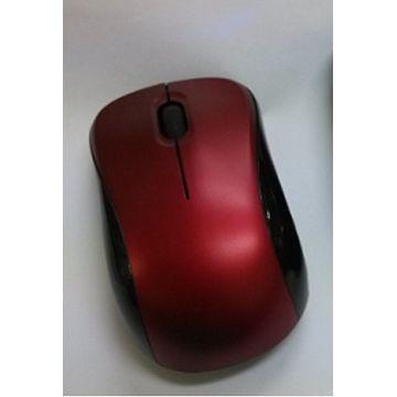 AMICE 2.4G NANO無線新貴光學鼠-紅 AMS-1301-WRB