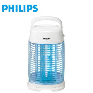 【福利品】PHILIPS 15W 光觸媒殺菌捕蚊燈方圓型