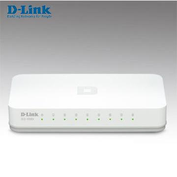 D-LINK 8埠10/100Mbps節能桌上網路交換器