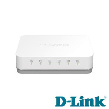 D-Link 5埠Gigabit超高速乙太網路交換器 DGS-1005A
