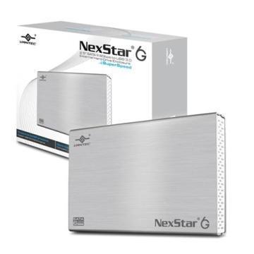凡達克-2.5吋傳輸精靈6G/USB3.0硬碟外接盒 NST-266S3-SV