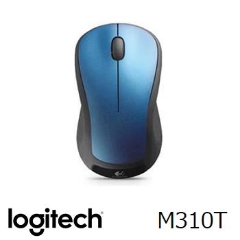 羅技 Logitech M310T 無線滑鼠 - 藍