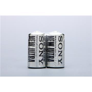 SONY碳鋅2號電池(2入)