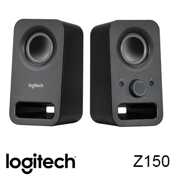羅技Logitech Z150 多媒體音箱喇叭 黑