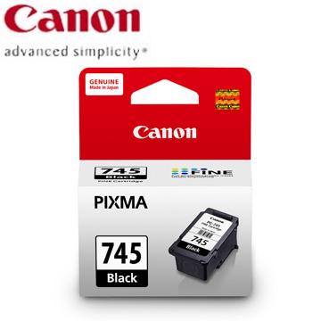 佳能CANON 745 黑色墨水匣 PG-745
