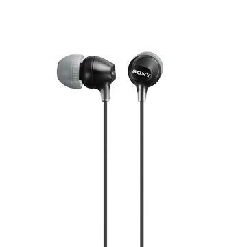 【福利品】SONY MDR-EX15LP入耳式耳機(黑)