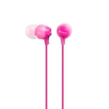 SONY MDR-EX15LP入耳式耳機(粉紅)