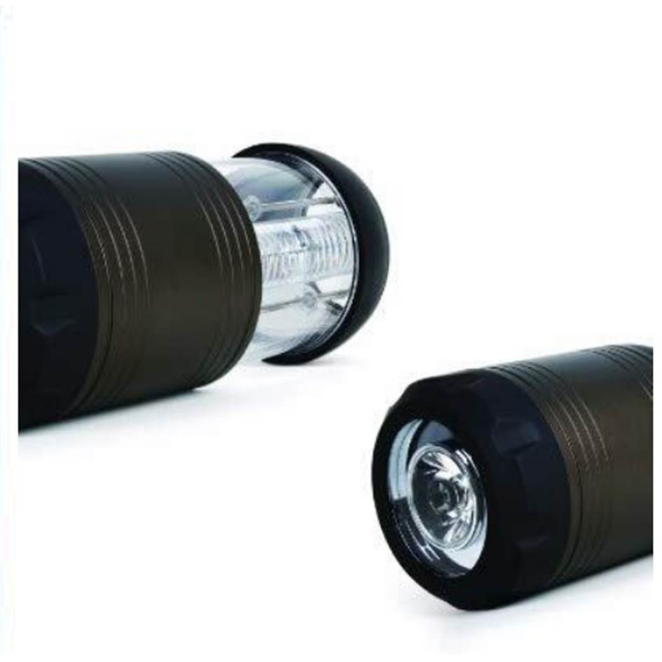 【福利品】FORA 手電筒兼戶外燈-銅色