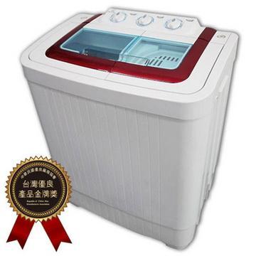 晶華ZANWA 4公斤雙槽洗滌機