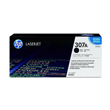 惠普HP 307A 黑色原廠碳粉匣