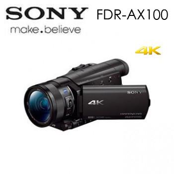 SONY FDR-AX100 4K高畫質攝影機