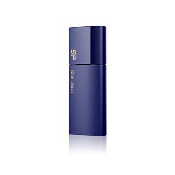【32G】廣穎 Silicon-Power Blaze B05(藍)隨身碟