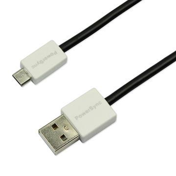 群加Micro B USB傳輸線1.5M黑