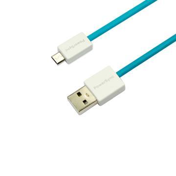 群加Micro B USB傳輸線1.5M藍