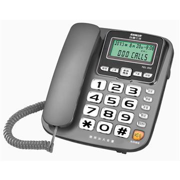 台灣三洋SANLUX 助聽功能有線電話