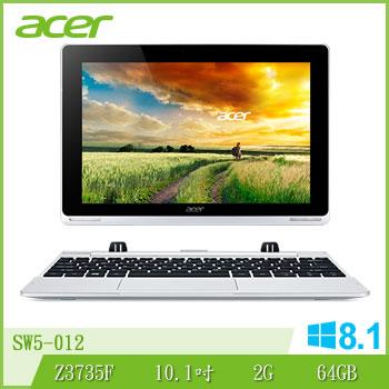 ACER SW5 Z3735 64G 變形平板筆電 SW5-012-15H8