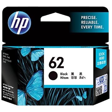 惠普HP 62 黑色墨水匣