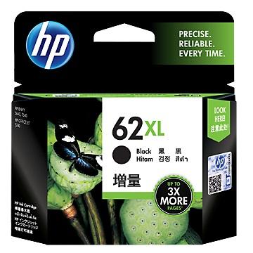 HP 62XL 高容量黑色墨水匣 C2P05AA