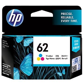 HP 62 彩色墨水匣