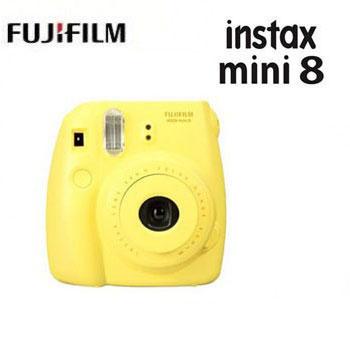 【展示機】富士 Mini8拍立得-黃