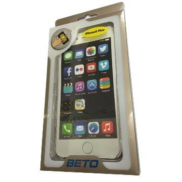 BETO iPhone 6 Plus 手機保護套-透明