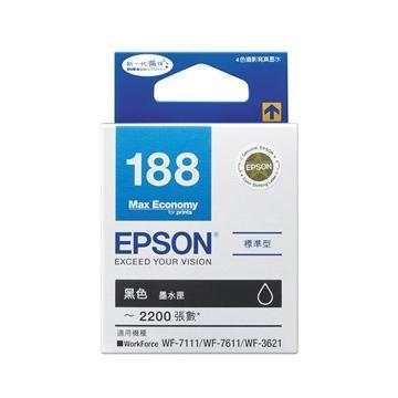 愛普生EPSON 188 黑色墨水匣