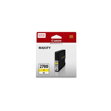 【福利品】CANON 2700XL 大容量黃色墨水匣