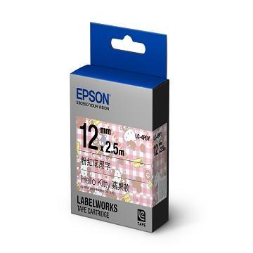 【蘋果款】EPSON LC-4PBY Hello Kitty 標籤帶