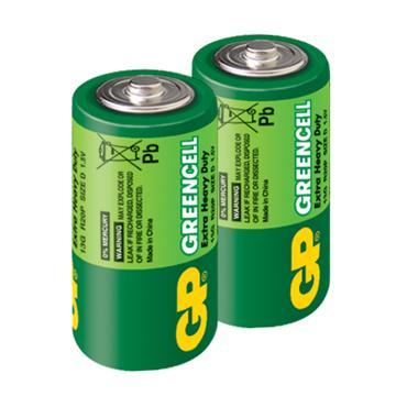 GP超霸1號特級碳鋅電池2入