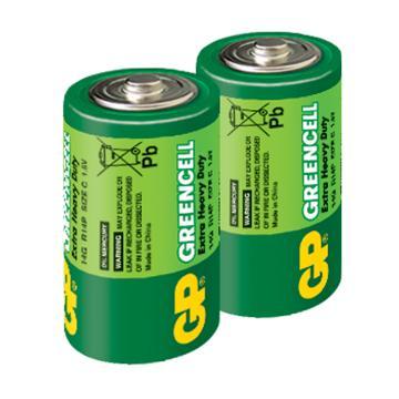 GP超霸2號特級碳鋅電池2入