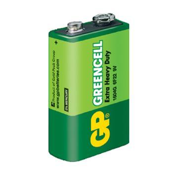 GP超霸9V特級碳鋅電池1入