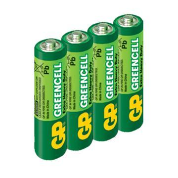 GP超霸3號特級碳鋅電池4入