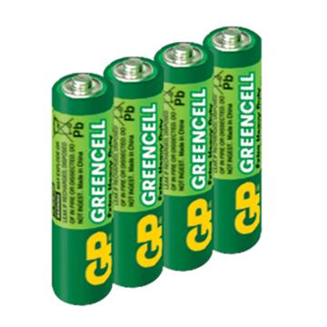 GP超霸4號特級碳鋅電池4入 AAA4
