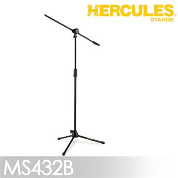 HERCULES 麥克風架附斜桿 MS432B