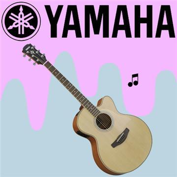 YAMAHA 舞台表現設計電木吉他