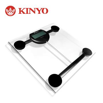 KINYO 晶透電子體重計
