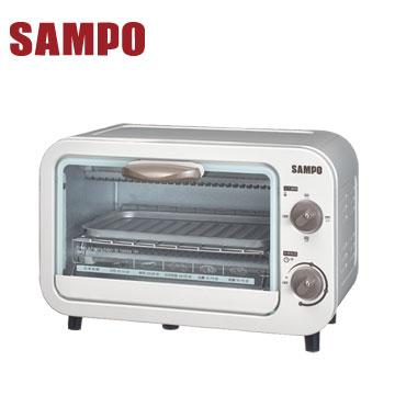 【拆封品】聲寶9L電烤箱