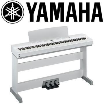 YAMAHA 數位鋼琴 P-255WH