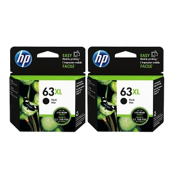 【兩入88折】HP 63XL 高容量黑色墨水匣