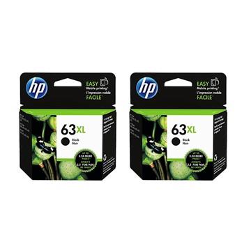 【限時兩入85折】HP 63XL 高容量黑色墨水匣