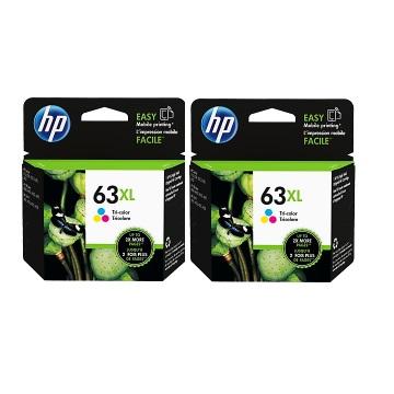 【兩入88折】HP 63XL 高容量彩色墨水匣
