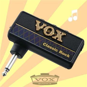 VOX amPlug隨身前級效果器 Classic Rock