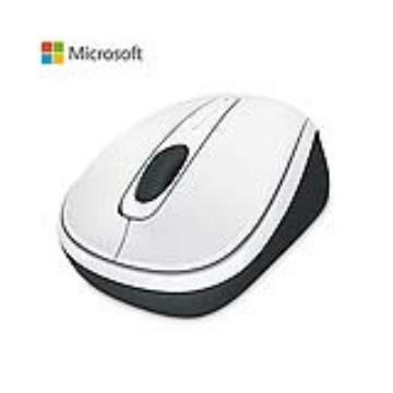 微軟Microsoft 3500 無線行動滑鼠 白