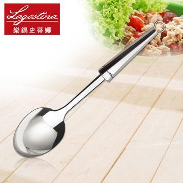 【樂鍋史蒂娜】KitchenTools不鏽鋼橢圓湯勺