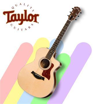 Taylor 泰勒 200系列民謠電木吉他含原廠袋 214ce