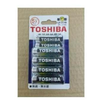 東芝鹼3號電池10入卡裝