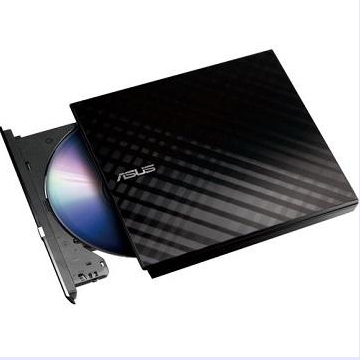 華碩ASUS 8X外接式超薄燒錄機 黑