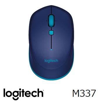 羅技 Logitech M337 藍牙滑鼠 - 藍