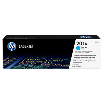 HP 201A 藍色原廠碳粉匣