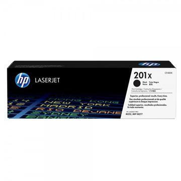 惠普HP 201X 黑色原廠碳粉匣(高容量)